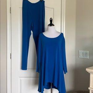 Misses/ladies Alfani 2 piece royal blue outfit